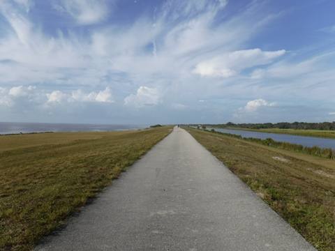 Lake Okeechobee Scenic Trail, South Florida Biking