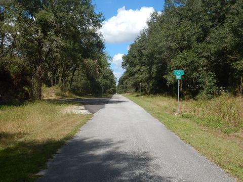 Withlacoochee Bicycle Trail, Crooms Road